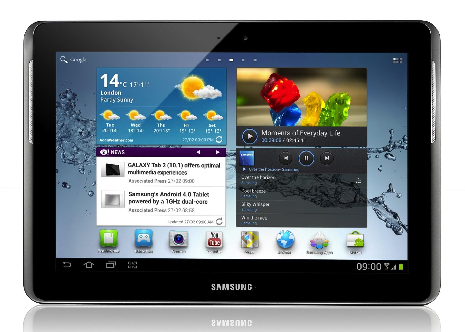 Il Samsung Galaxy Tab 2 10.1 è ufficialmente pronto
