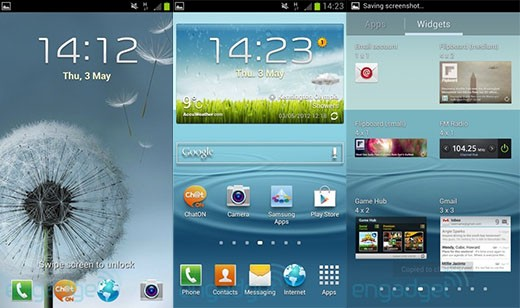 Focus Samsung Galaxy S III: la nuova interfaccia TouchWiz UX