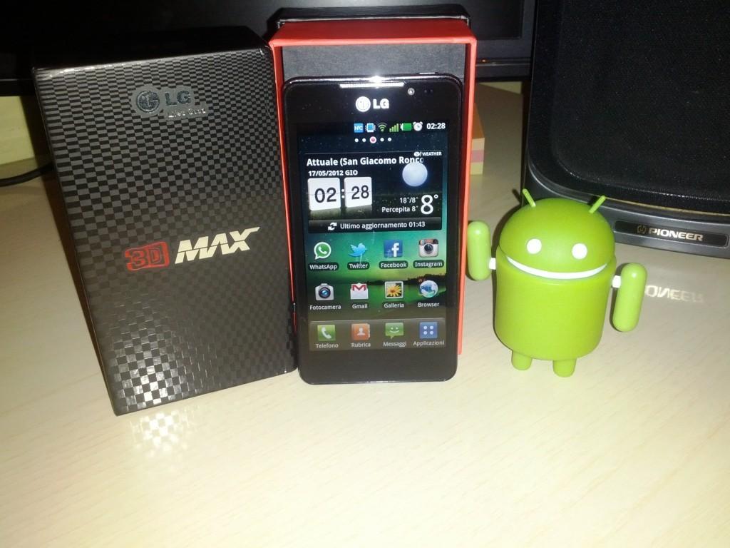 LG Optimus 3D Max - Prime impressioni dopo un giorno di utilizzo