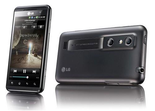 Disponibile un aggiornamento per LG Optimus 3D