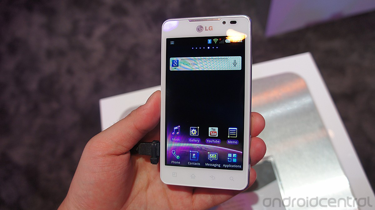 LG Optimus 3D Max: foto e video hands-on della versione bianca