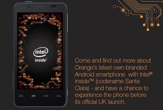 Orange Santa Clara: il secondo smartphone Android con Intel Medfiled