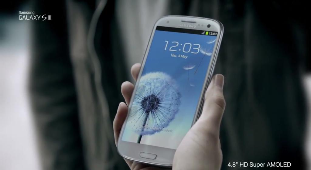 Ecco lo spot ufficiale di Samsung Galaxy S III