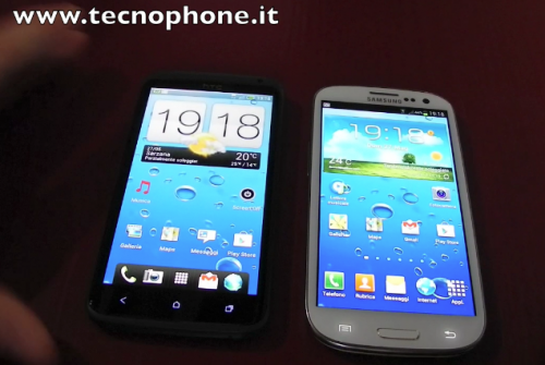 HTC One X Vs Samsung Galaxy S III - Video confronto da Tecnophone
