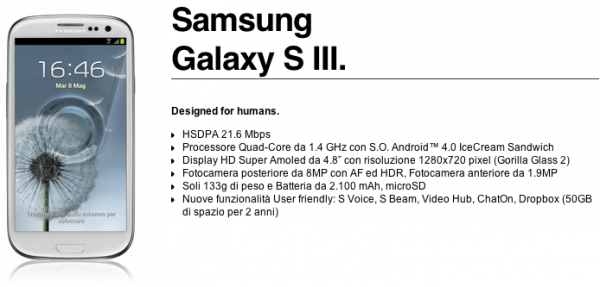 Samsung Galaxy S III: ecco tutti i dettagli dell'offerta 3