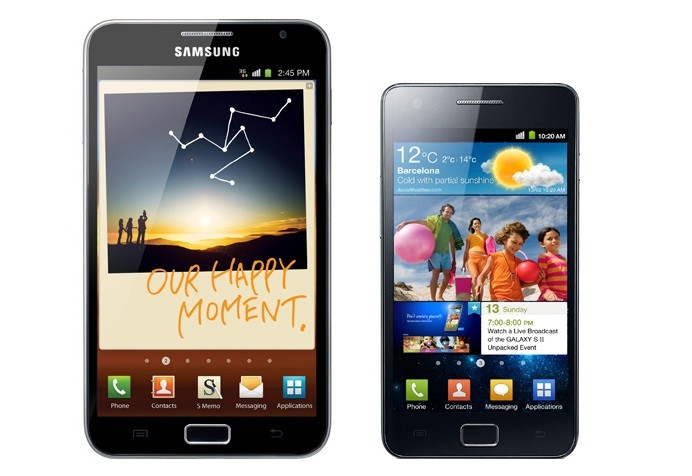 Samsung Galaxy Note e Galaxy S II: grandi sconti su Amazon.it