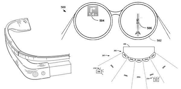 Google deposita altri brevetti: svelate nuove funzioni dei Google Glasses