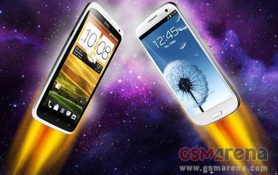 HTC One X vs Samsung Galaxy S III: confronto durata batteria