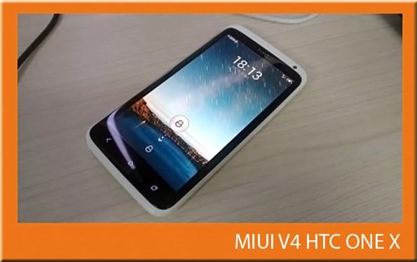 In arrivo la ROM MIUI V4 per l'HTC One X