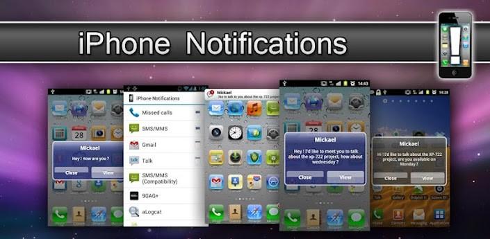 Personalizzazione Android: notifiche pop-up in stile iPhone