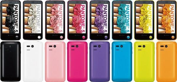 In Giappone arriva Sharp 107SH Pantone 5, lo smartphone Android che misura il livello delle radiazioni