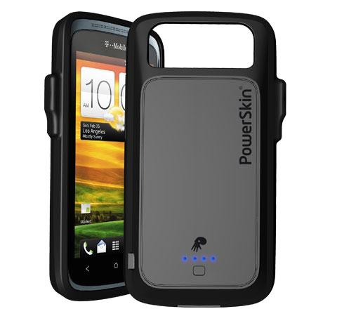 PowerSkin battery-boosting case diponibile per l'HTC One S