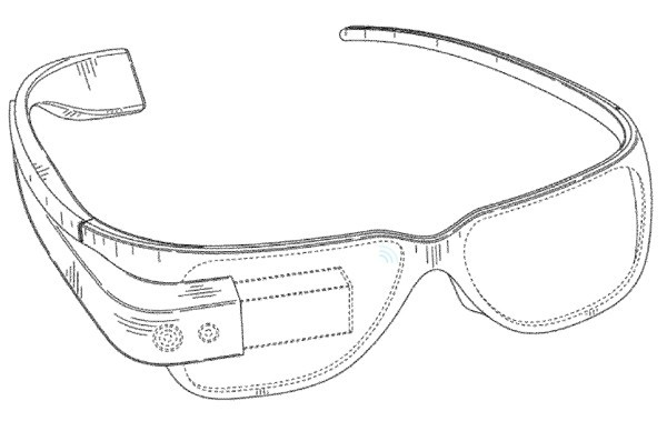 Gooogle brevetta i Google Glasses