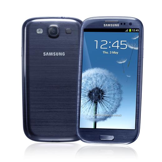 Samsung Galaxy S III Pebble Blue rinviato a causa di un errore di produzione