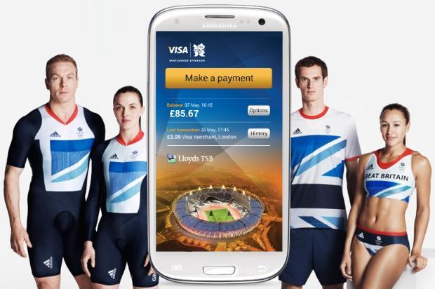 Samsung: collaborazione con Visa per introdurre i pagamenti NFC a Londra 2012