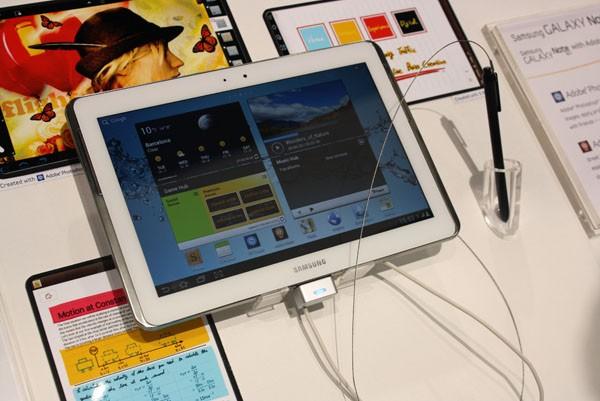 Quad-core confermato per il Samsung Galaxy Note 10.1