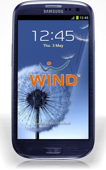 Anche Wind inizia i preordini per il Samsung Galaxy S III