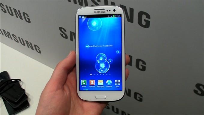Samsung Galaxy S III, ecco i nuovi sfondi animati [VIDEO]