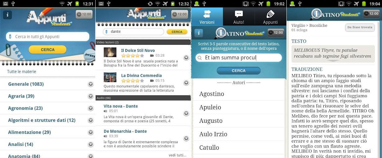 Studenti.it Appunti e Studenti.it Latino arrivano sul Play Store