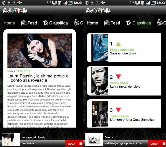 Radio Italia, disponibile l'applicazione ufficiale per Android