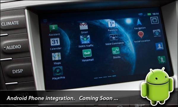 Toyota e Lexus puntano sui sistemi infotainment con Android