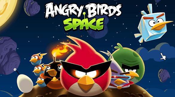 Angry Birds Space si aggiorna e ci offre 10 nuovi livelli