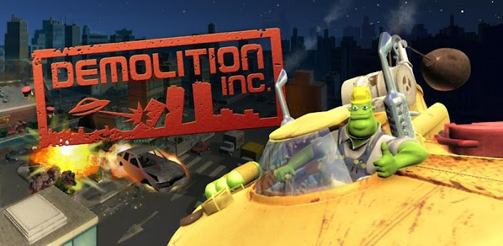 Demolition Inc. disponibile anche per i dispositivi non Tegra