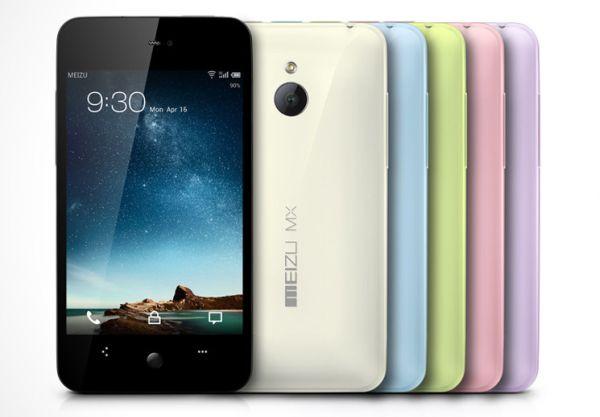 Meizu annuncia l'MX 4-core con Android 4.0
