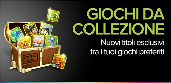 Play With Collectibles: giochi in promo e contenuti speciali dal Google Play Store