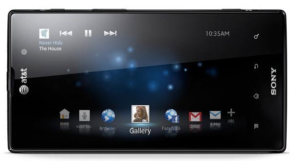 Sony Xperia Ion in video con Ice Cream Sandwich