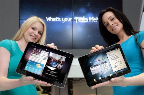Samsung Galaxy Tab 10.1, 8.9, 7.7 e 7.0 Plus: aggiornamento ICS tra Luglio ed Agosto
