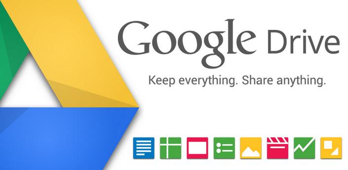 Google Drive si aggiorna alla versione 1.1.1.6