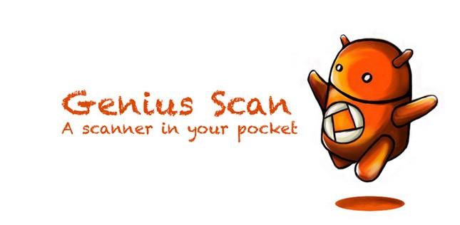 Genius Scan, e il vostro smartphone diventa uno scanner portatile