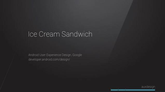 Ice Cream Sandwich vince un premio per la migliore esperienza d'uso