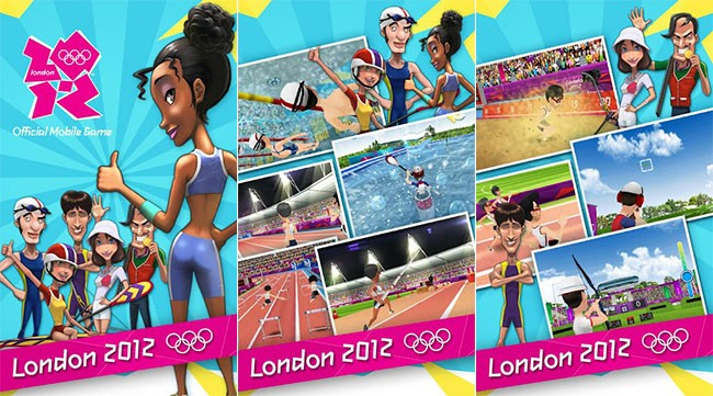London 2012 - Official Game, i Giochi Olimpici arrivano su Android