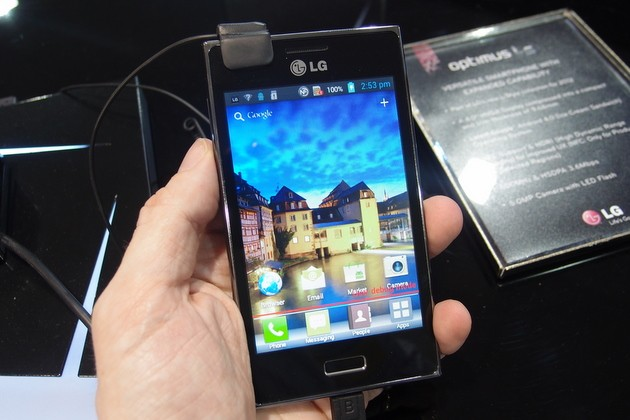LG Optimus L5 presto in Europa sotto i 200€