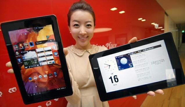 LG abbandona momentaneamente il mercato dei tablet