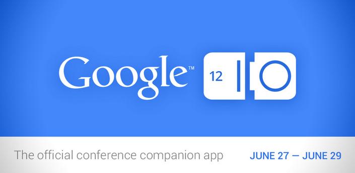 Google I/O 2012, disponibile l'applicazione ufficiale sul Play Store