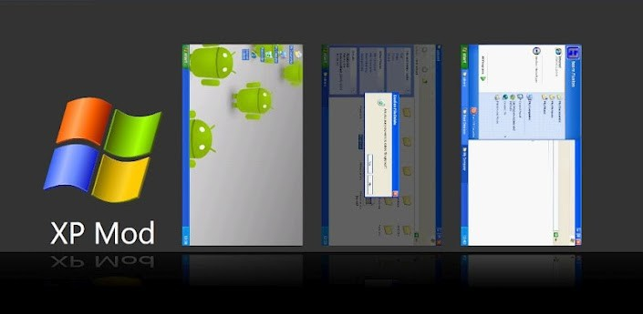 Android con le sembianze di Windows XP grazie ad XP Mod