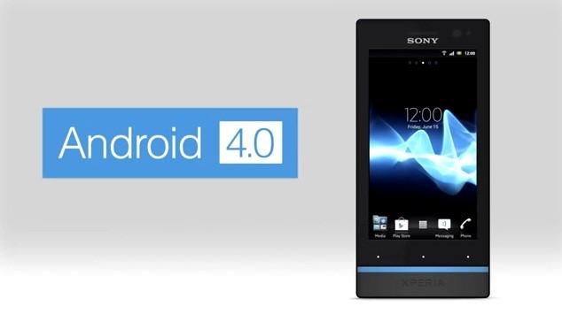Sony rilascia Android 4.0.4 per Xperia S