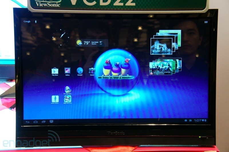 ViewSonic VCD22: ecco il tablet Android con display da 22 pollici [VIDEO]