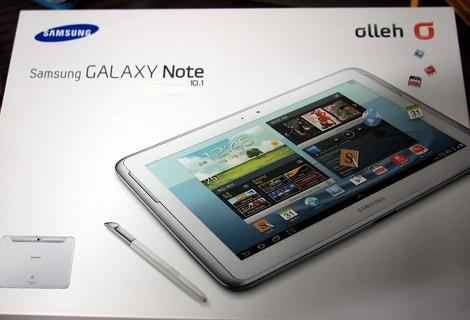 Samsung Galaxy Note 10.1: nuovo unboxing e breve focus
