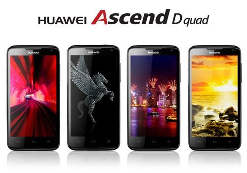 Huawei Ascend D Quad da Ottobre in Europa