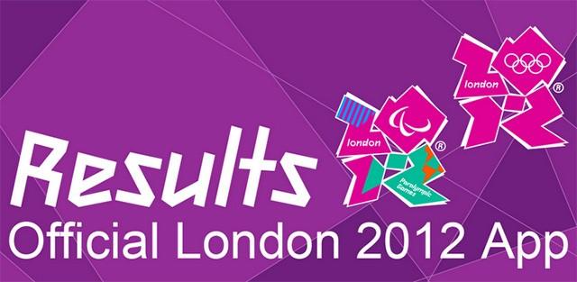 App Results London 2012, per rimanere aggiornati sui Giochi Olimpici