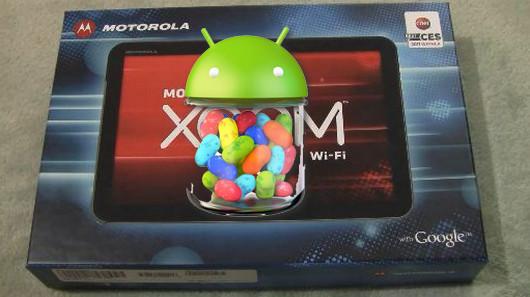 Motorola conferma l'arrivo di Jelly Bean per lo Xoom con il chagelog ufficiale [UPDATE - DOWNLOAD DISPONIBILE]