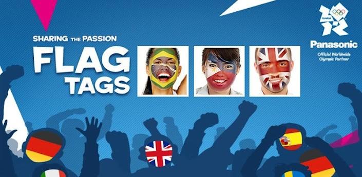 Panasonic Flag Tags: ecco come dipingere il tuo volto con i colori della propria Nazione