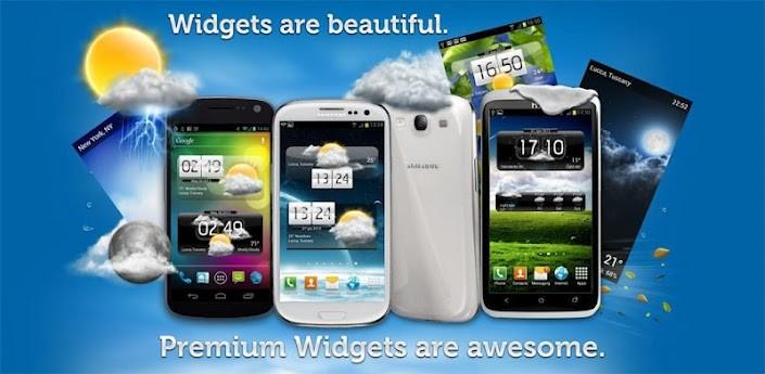 Premium Widgets & Meteo: arricchisci la tua home con orologio e meteo
