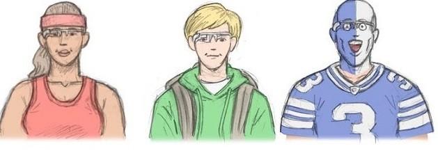 I Google Glass protagonisti di simpatici fumetti