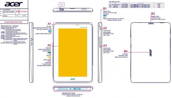 In arrivo Acer A110, il primo vero rivale del Nexus 7