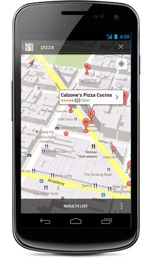 Con Android 4.1 cambia il funzionamento del GPS